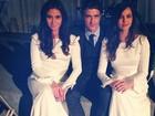 Tainá Müller posta foto do casamento de Clara e Marina: 'Vou sentir saudade'