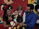 Priscila Pires faz festa para comemorar o aniversário de um ano do filho caçula, Pietro