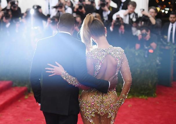 Beyoncé e Jay Z (Foto: Getty Images/Larry Busacca)