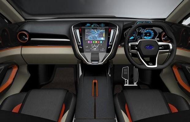 Interior do Subaru VIZIV Future Concept (Foto: Divulgação)