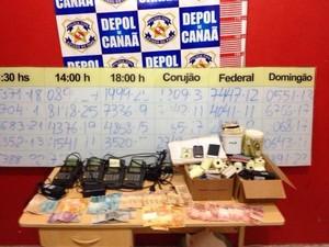Jogos de Azar Canaã dos Carajás Trio Preso (Foto: Divulgação/Polícia Civil)