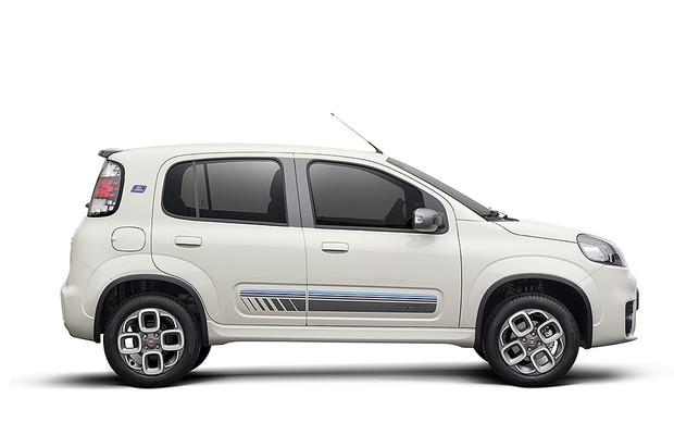 Fiat Uno Sporting Blue Edition (Foto: Fiat)