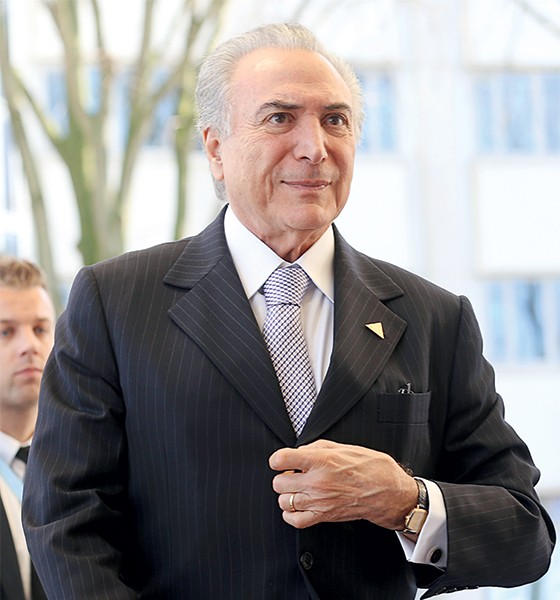 O vice-presidente Michel Temer (Foto: Evert-Jan Daniels/AP)