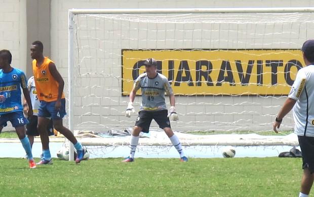Flavio Tenius preparador goleiro Botafogo (Foto: André Casado / Globoesporte.com)