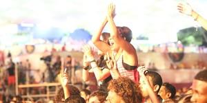 Festival bombou! Lembre como foram os 3 dias de shows; vídeos (Raphael Dias/Gshow)