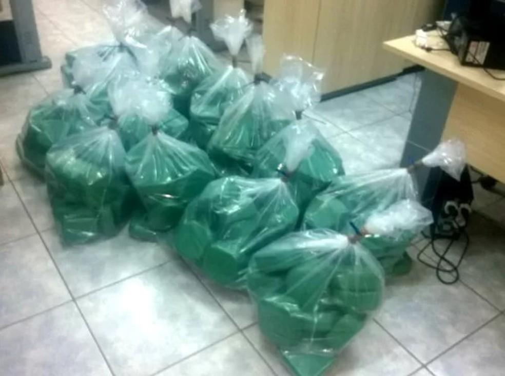 PF desarticulou organização criminosa especializado em tráfico internacional de drogas (Foto: Divulgaçõa/PRF)