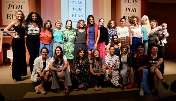 Elas por Elas (Foto: Eduardo Uzal e Camille Garzon)