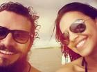 Mariana Rios posta foto com Daniel Oliveira: 'Parceiro e amigo querido'