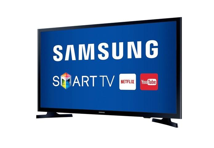 Smart TV Samsung vem com Wi-Fi embutido e tela de 32 polegadas (Foto: Divulgação/Samsung)