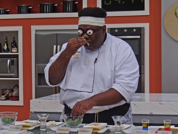 Sérgio Loroza ganha primeira prova do Super Chef Celebridades (Foto: Mais Você / TV Globo)