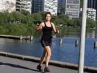 Capa da 'Playboy', Nanda Costa exercita corpão no Rio de Janeiro