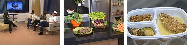 Globo Comunidade alimentação (Foto: Reprodução/ RPC TV)