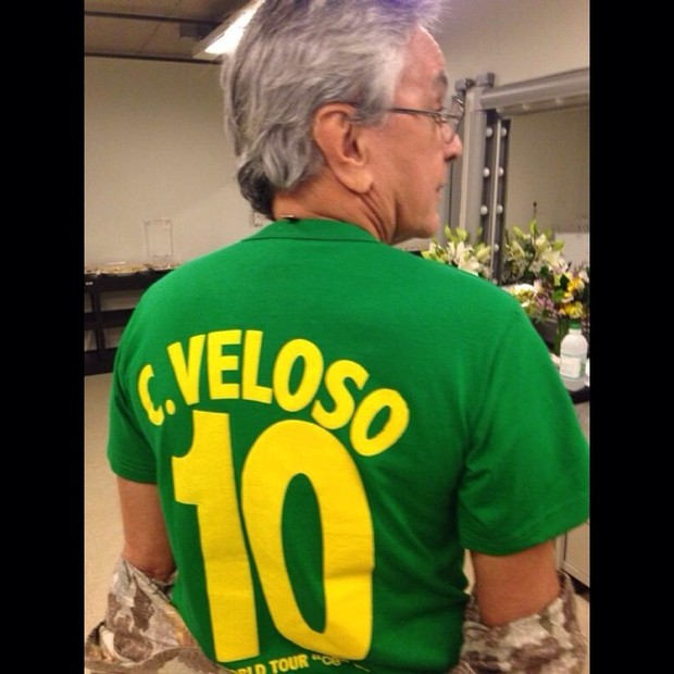 Caetano Veloso na Copa (Foto: Reprodução/Instagram)