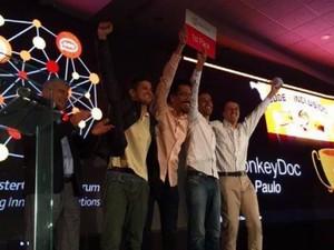Grupo foi premiado em competição nos Estados Unidos (Foto: Reprodução/EPTV)