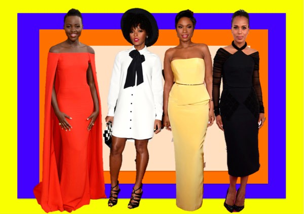 Lupita Nyong'o, Janelle Monae, Jennifer Hudson e Kerry Washington (Foto: Getty Images)