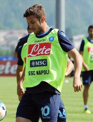 Zagueiro Bruno Uvini Napoli (Foto: Divulgação / Site oficial do Napoli)
