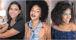 Maquiagem para pele Negra (Foto: EGO)