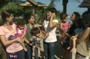 Veja o dia a dia das mamães e dos bebês (Hipoglós/Mais Você)