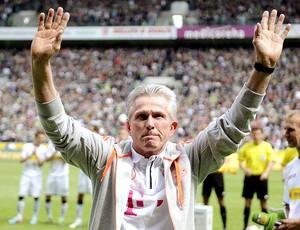Jupp Heynckes jogo Bayern de Munique e Mönchengladbach (Foto: EfE)