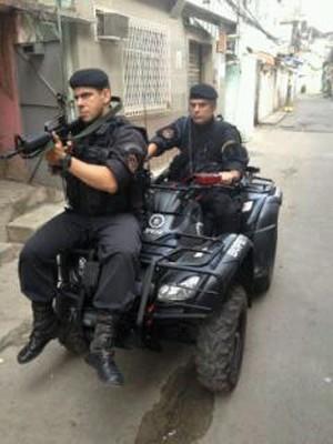 Bope faz operação em Manguinhos, Rio (Foto: Reprodução/Twitter Bope)