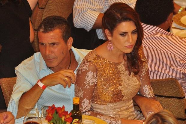 Eri Johnson e Fernanda Paes Leme no cruzeiro de Roberto Carlos (Foto: Roberto Teixeira/ EGO)