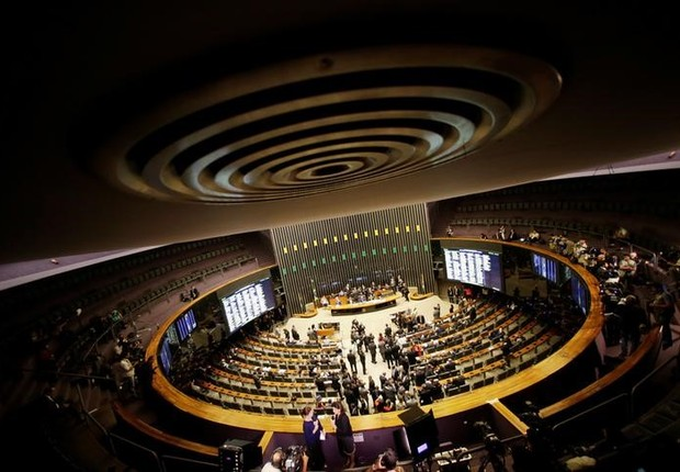 Visão geral da Câmara dos Deputados em Brasília (Foto: Ueslei Marcelino/Reuters)