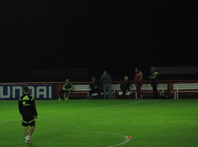 Iniesta (Foto: Alexandre Alliatti)