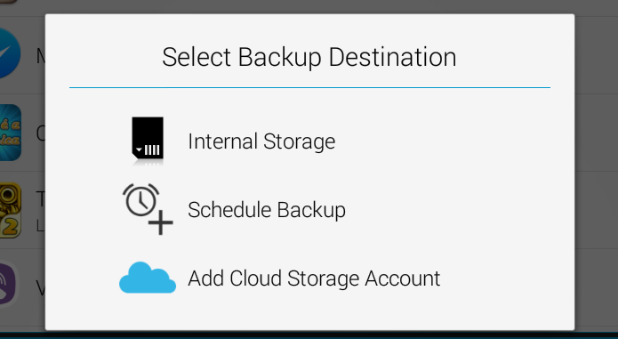 Escolha o local em que os arquivos de backup serão salvos (Foto: Reprodução/ Lucas Torres)