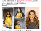 Boneca de Bela conquista a web por semelhança com Ingrid Guimarães