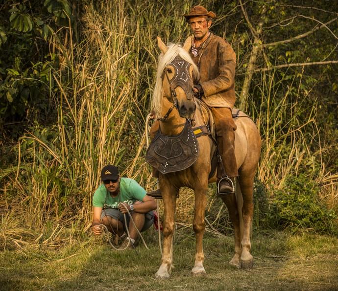 Domingos Montagner sempre foi muito concentrado em seu ofício de ator (Foto: Inácio Moraes/ Gshow)