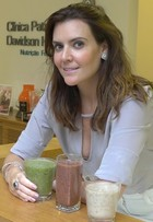 Patrícia Davidson ensina sucos que matam a fome e ajudam na dieta