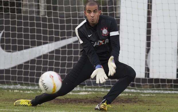 Danilo Fernandes treino Corinthians (Foto: Daniel Augusto Jr. / Ag. Corinthians)