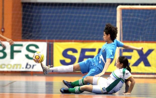 Estoril disputa Taça Brasil de futsal sub-20 feminino (Foto: Divulgação/CBFS)