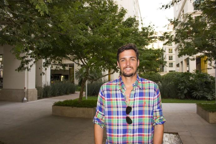 Dos hits Musa do Verão e Deixa Disso, Felipe Dylon está de volta em 2016 e cheio de novidades (Foto: Yuri Pariz/Divulgação)