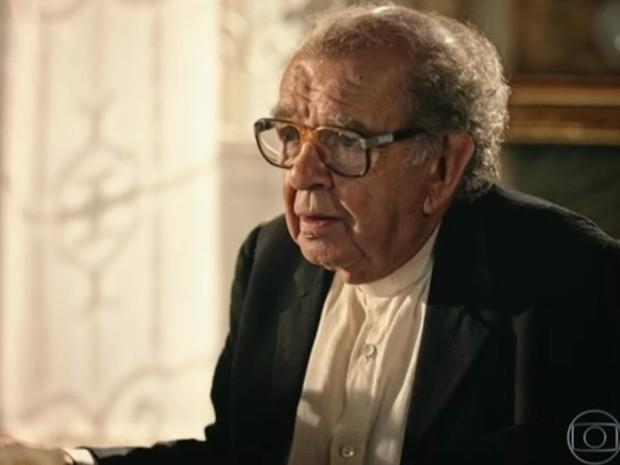 Ator Umberto Magnani (Foto: Reprodução/TV Globo)