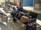 Por falta de equipamento, professora é impedida de embarcar em avião