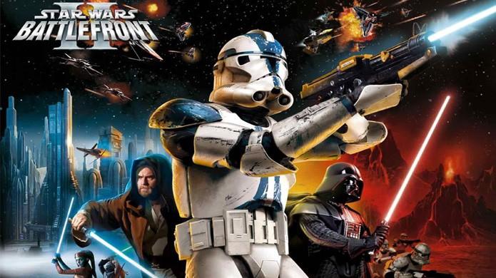 Star Wars: Battlefront 2 foi um dos mais populares games da série (Foto: Reprodução/YouTube)