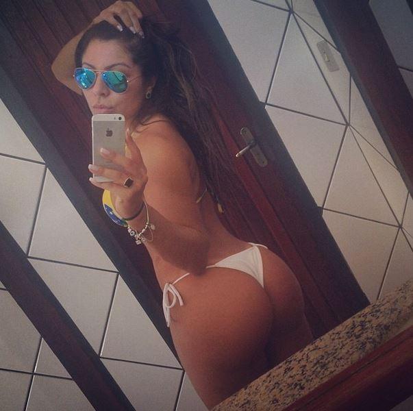 Andressa Ferreira, namorada de Thammy Miranda (Foto: Instagram / Reprodução)