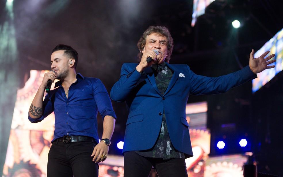 Matogrosso e Mathias cantarão sucessos dos 40 anos de história (Foto: Érico Andrade/G1)