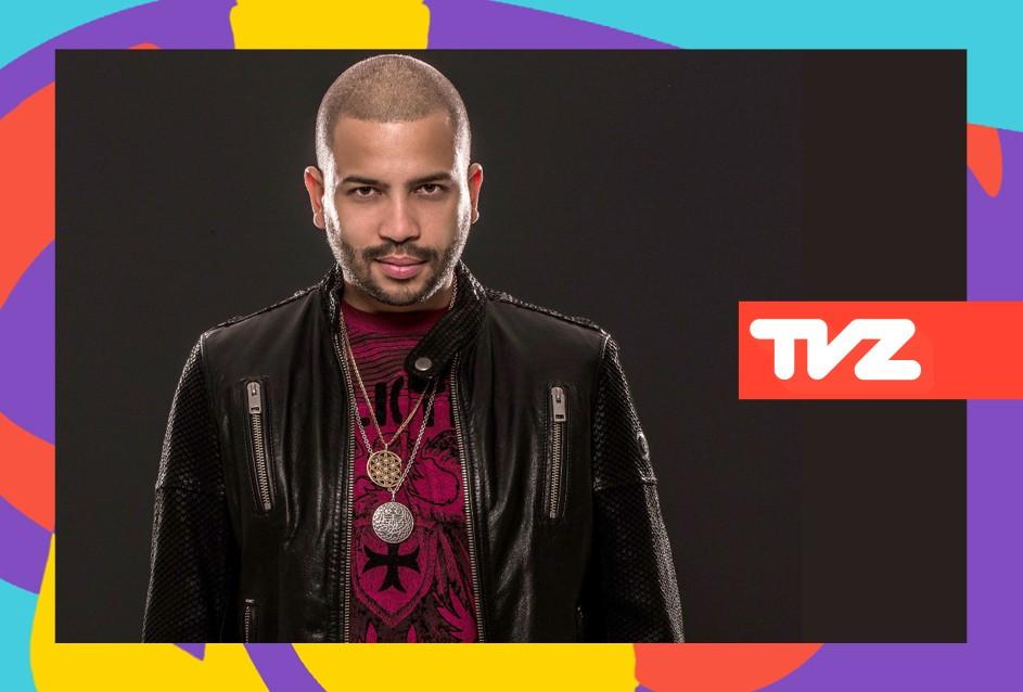 Projota  o apresentador do TVZ Ao Vivo nesta quarta (28) (Foto: Divulgao/Multishow)