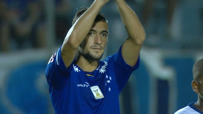 De Arrascaeta, meia do Cruzeiro (Foto: Reprodução / TV Globo Minas)
