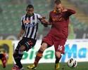 Maicosuel dá assistência, e 'brasucas' Udinese e Roma ficam no empate