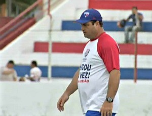 Vica mudou a equipe do Fortaleza (Foto: Reprodução/TV Verdes Mares)