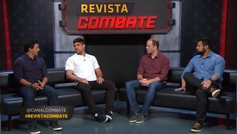Vicente Luque participa no Revista Combate  e fala sobre sua última luta e sua carreira