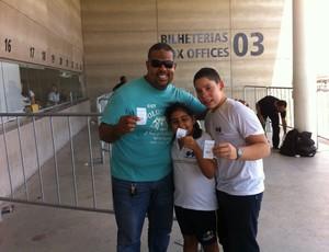 André Luis vai levar os filhos para a torcida do Flamengo (Foto: João Marcelo Sena)