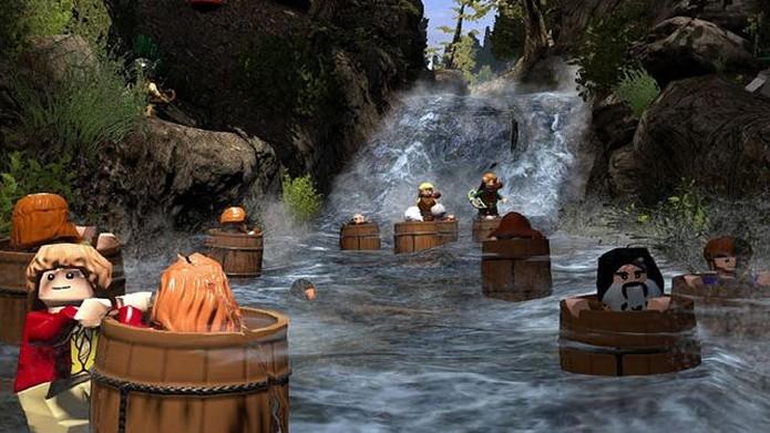 LEGO The Hobbit é um dos mais bonitos jogos da franquia (Foto: washingtontimes.com)