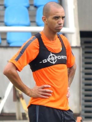 Diego Tardelli, treino Shandong engenhão (Foto: Fabio Lima)