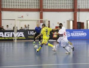 São Paulo/Suzano x São josé Liga futsal (Foto: Thiago Fidelix)