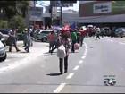 Manifestantes protestam contra privatização da Celg em Goiânia