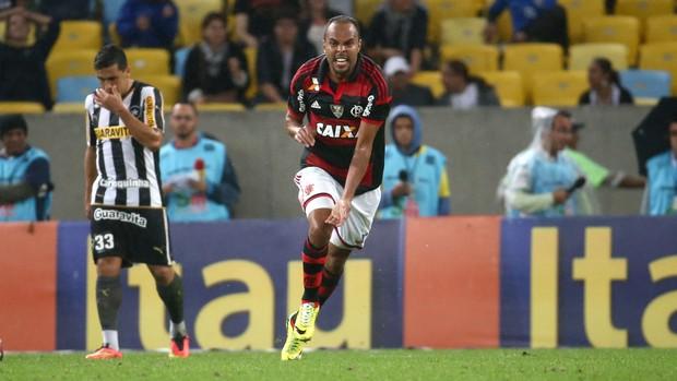 Alecsandro gol Flamengo x Botafogo (Foto: André Durão / Globoesporte.com)